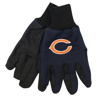 NFL Team Logo Grip Gloves - Chicago Bears