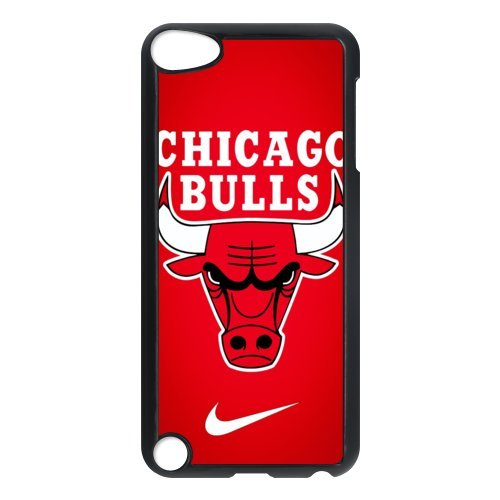 NBA Team 4 Chicago Bulls Slipknot Print Black Case With Hard Shell Cover for iPod Touch 5th at Amazon.com