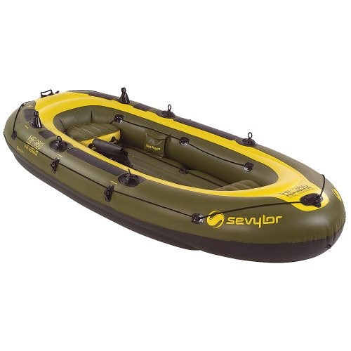 Sevylor Fish Hunter Inflatable 6-Person Boat