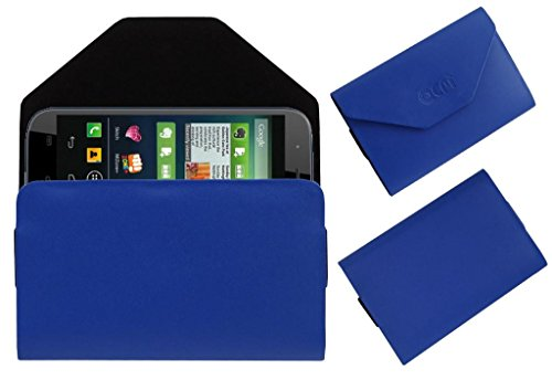 Acm Premium Pouch Case For Micromax Canvas Doodle 2 A240 Flip Flap Cover Holder Blue  available at amazon for Rs.179