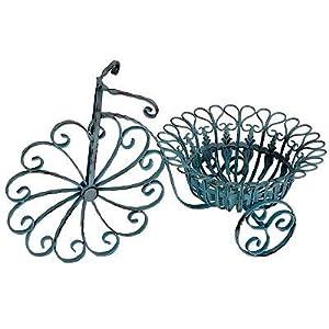 """Metal Bicycle Planter/Basket 25.5""""x13.5""""x15"""""""