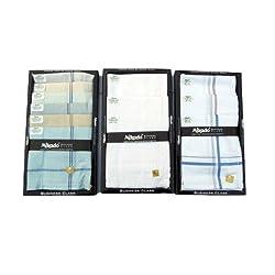 Mikado 100% Cotton Handkerchiefs for Men - 30 Pcs Combo