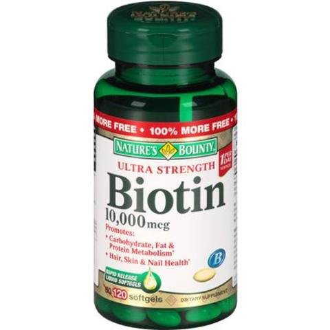 Natures-Bounty-Biotin-10000-MCG-Softgels-120-Count