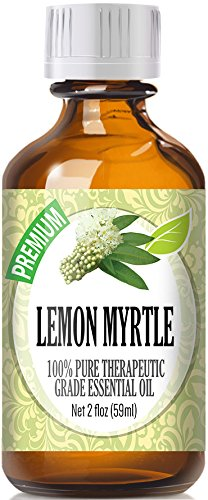 Lemon Myrtle (60ml) 100% Pure, Best Therapeutic Grade Essential Oil - 60ml / 2 (oz) Ounces