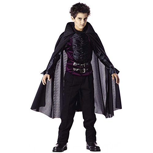 Child's Gothic Vampire Halloween Costume (Size: Large 10-12)