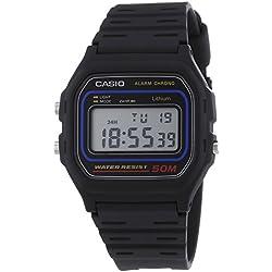 Casio 2556 W-59-1VQES - Reloj Quartz Digitale, correa de resina, negro