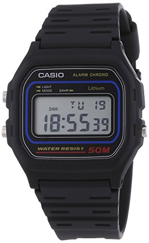 Casio Collection Men's Watch W59/1V. This minimalist, no nonsense watch has been a popular choice for many years.
