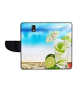 KolorEdge Printed Flip Cover For Samsung Galaxy Note 3 Neo Multicolor - (55KeMlogo09314SamN750)