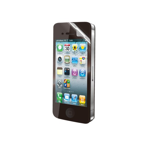 iBUFFALO iPhone4S 『なめらか指すべり』液晶保護フィルムスーパースムースタイプ BSIP11PFT