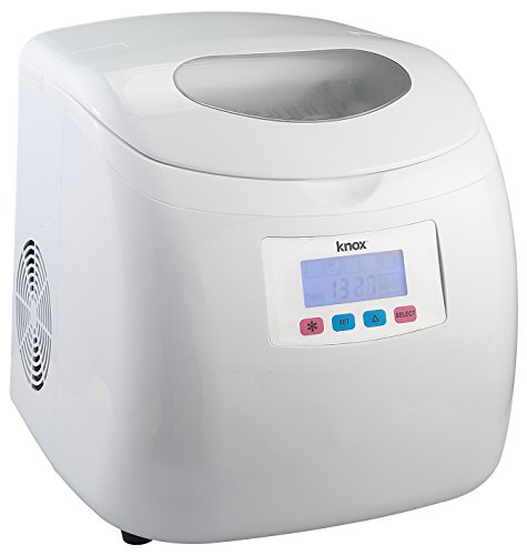 Knox Compact Ice maker (27 Lbs in 24 Hrs) - White Color