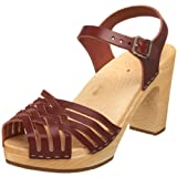 swedish hasbeens Women's Braided Sky High Braided Sandal