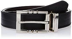 Hidesign Jene Black Brown Reversible Leather Men's Belt