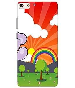 Joe Printed Plastic Back Case for Gionee s7 Mobile ( Multicolor)