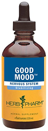 Herb Pharm Good Mood Herbal Formula with St. John's Wort for Healthy Emotional Balance - 4 Ounce (Herb Pharm Kava Extract compare prices)