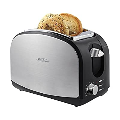 Sunbeam Brushed Stainless Steel 2-slice Toaster with Extra Wide Slots from Sunbeam