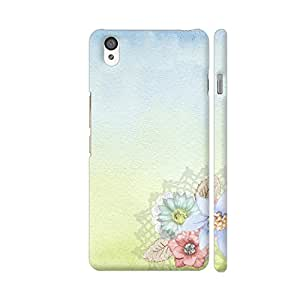 Colorpur Art Of Flower Bloom Designer Mobile Phone Case Back Cover For OnePlus X | Artist: WonderfulDreamPicture