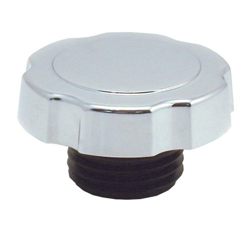 Spectre Performance 4320 Chrome Screw-In Oil Filler Cap For Gm back-613436