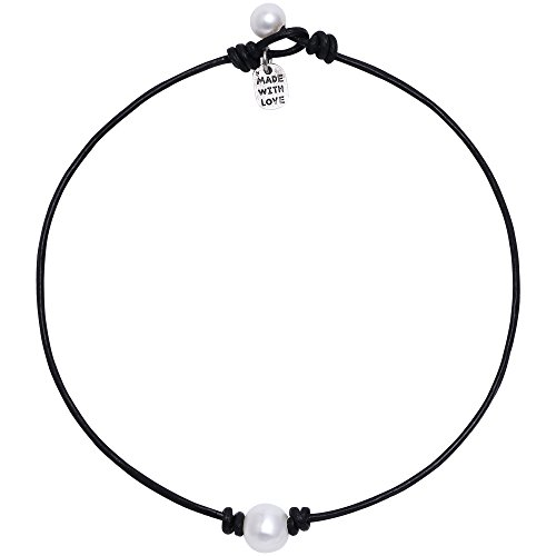 freshwater-single-pearl-necklace-choker-on-genuine-leather-cord-jewelry-for-women-14-black