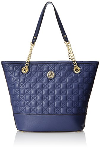 Anne Klein The Quilt Trip Tote Shoulder Bag, Blueberry, One Size