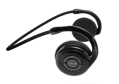 Jarv Joggerz Bt-301 Sports Bluetooth 4.0 Headphones With Built-In Microphone - Black (Updated Version)