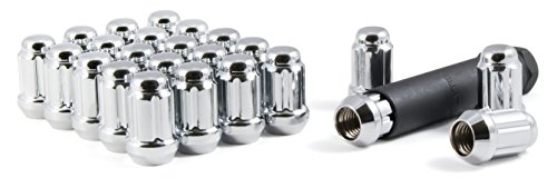Gorilla Automotive 21134HT Acorn Style Lug Nut - 12-Millimeter by 1.50 Thread Size - Pack of 24 (Toyota Echo Lug Nuts compare prices)