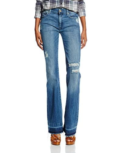 7 For All Mankind Jeans Bootcut blau W26L32