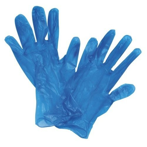 Everyday in vinile con polvere, misura M, colore: blu, confezione da 100