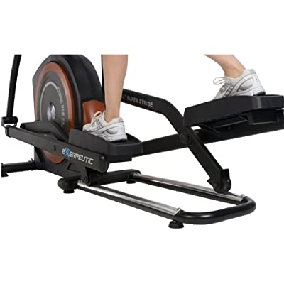 Exerpeutic 650 Heavy Duty 23 In Fitness Club Stride Programmable Elliptical