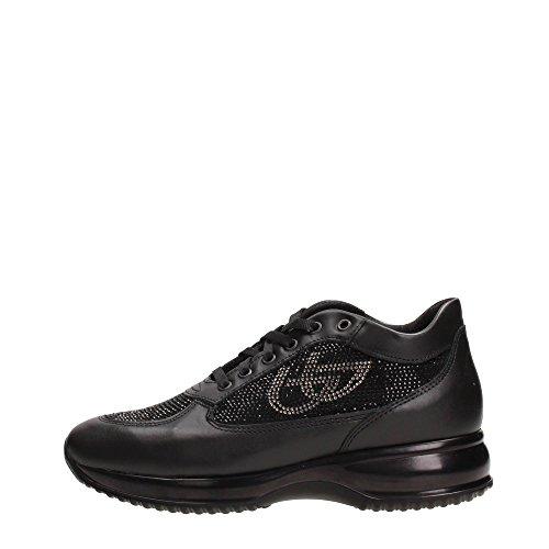 Blu Byblos 667305 Sneakers Donna Pelle NERO NERO 38