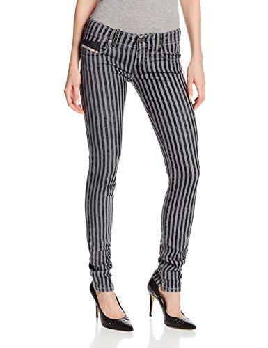 DIESEL - Jeans Grupee da donna, grigio, W25