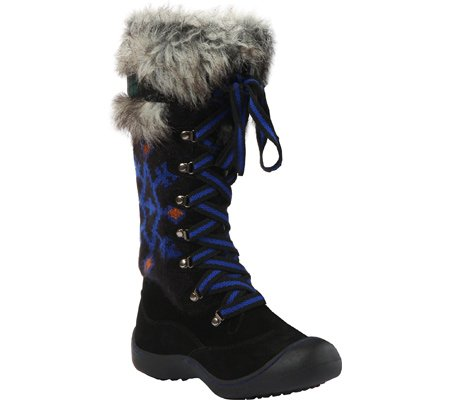 Muk Luks Gwen Tribal Motif Snow Boot