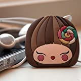 Momiji Ear Phone Cord Wrap Darcie Dot