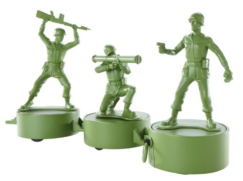 Disney / Pixar Toy Story Mega Action Spin n March Green Army Men