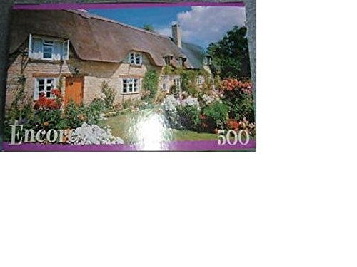 Encore 500 Piece Puzzle Thatched Cottage