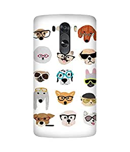 Spectacles Cool LG G3 Case