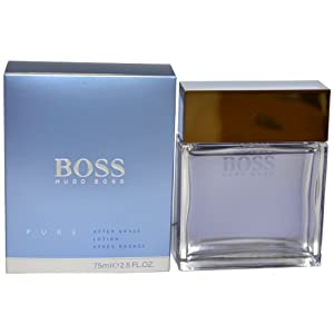 Boss Pure by Hugo Boss for Men. Aftershave 2.5-Ounces