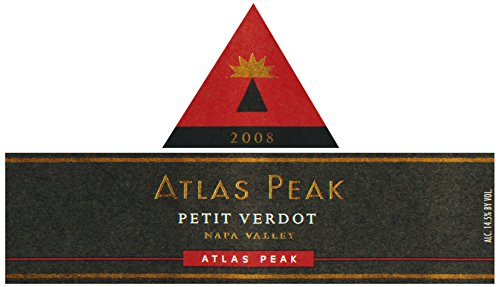 2008 Atlas Peak Petit Verdot, Atlas Peak Mtn 750 Ml