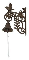 Best Quality- Cast Iron Wall Mount Bird Bell
