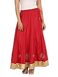 Neemrana Embroidered Lehenga (BADAL-RED_Red_Small)