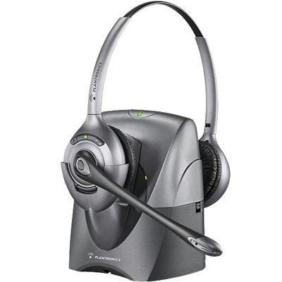 Plantronics SupraPlus CS361N Noise-Canceling Wireless Headset DECT
