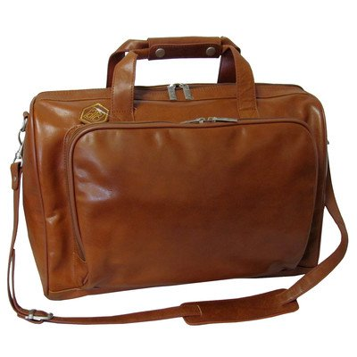 amerileather-18-inch-leather-carry-on-weekend-duffel-brown