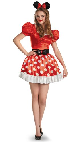 Disguise Women's Red Minnie Mouse