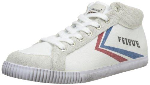 FeiyueDelta Mid Origine 1920 - Sneaker unisex adulto , Bianco (Blanc (641)), 38