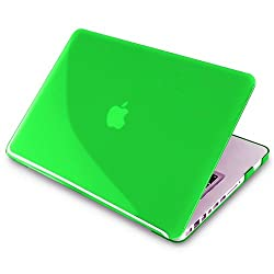 Snap-on Case compatible with Apple MacBook® Pro, Clear Green