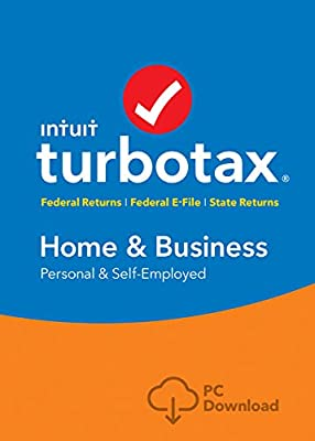TurboTax Home & Business 2016 Tax Software Federal & State + Fed Efile PC/Mac