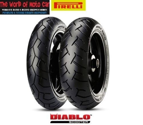 PNEUMATICI PIRELLI DIABLO SCOOTER 110/70 16 150/70 14 BEVERLY 350 SPORT TOURING
