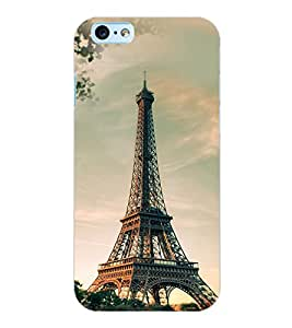 ColourCraft Tower Design Back Case Cover for APPLE IPHONE 6