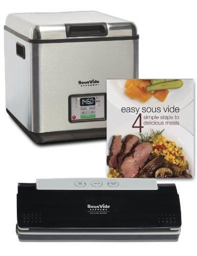 Sous Vide Supreme Promo Pack Cooking System, PSV-00144 Reviews