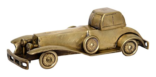 Unique Brass Metal Vintage-Car Medium Collectible Handmade Art India/Asia