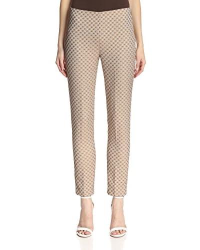 Paperwhite Women's Jacquard Ankle Pant